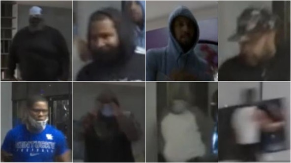 Police share video of 8 wanted in downtown summer looting