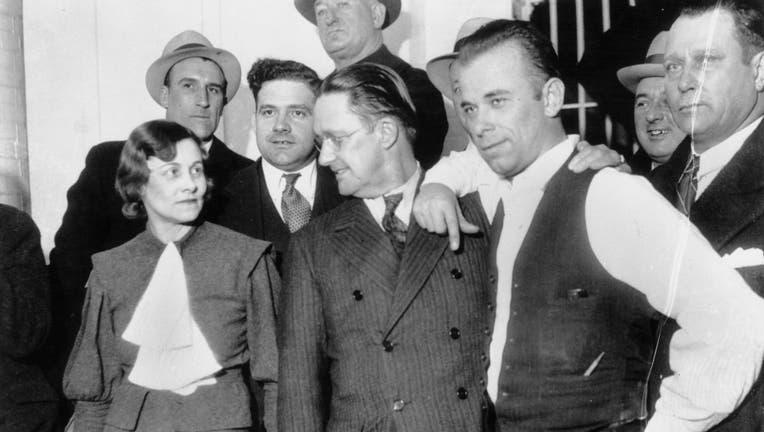 John Dillinger in Crown Point