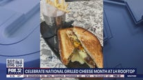 Celebrate National Grilled Cheese Month at LH Rooftop