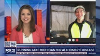 Running Lake Michigan for Alzheimer's Disease