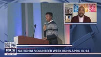 National Volunteer Week runs April 18-24