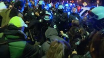 Adam Toledo Protest: Chicago police, protesters clash in Logan Square