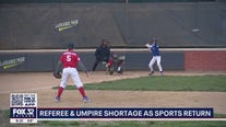 Referee, umpire shortage as sports return in Chicago