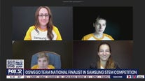 Oswego East HS freshmen dazzle in Samsung STEM competition