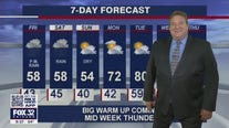 10 p.m. forecast for Chicagoland on April 22