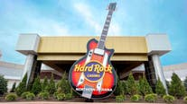 Hard Rock Casino in Gary unveils 37-foot-tall guitar marquee