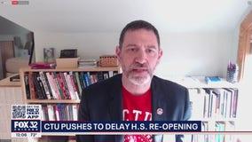 CTU wants reopening of high schools delayed one week