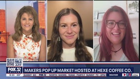 Chicago Makers Pop Up Shop to set up outdoor market at Hexe Coffee Co.