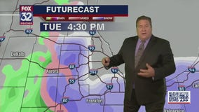 Chicago area could get slushy rain and snow on Tuesday