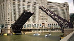 Franklin Street bridge to be raised Friday for maintenance work