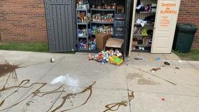 Crystal Lake food pantry vandalized; no suspect in custody