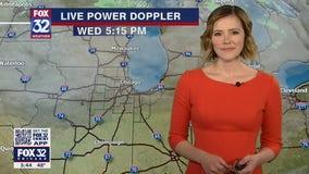 6 p.m. forecast for Chicagoland on April 14