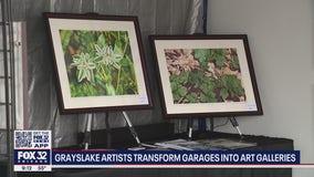 Grayslake artists turn their garages into art galleries