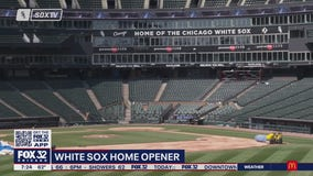 White Sox prepare for home opener with added safety measures