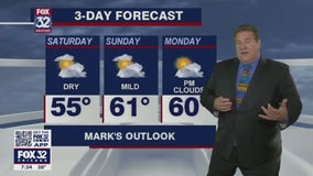 Saturday morning forecast for Chicagoland on April 17