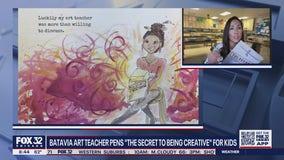 Batavia art teacher pens book to help kids express their creativity