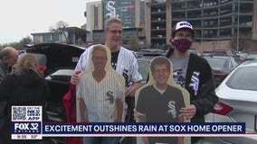 Rain couldn't dampen spirits on White Sox Opening Day