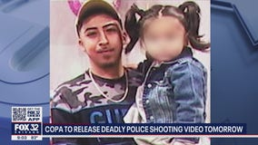 Family of Anthony Alvarez views video of Chicago police shooting 22-year-old