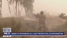 Biden to withdraw all troops from Afghanistan by Sept. 11