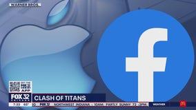 Apple, Facebook clash in privacy battle