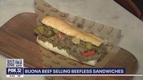 Buona Beef debuts beefless sandwich for vegans