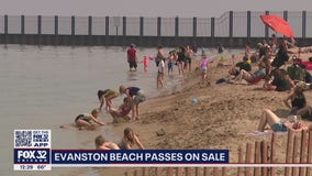 Evanston beach passes go on sale Monday
