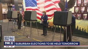 Suburban communities hold elections on Tuesday