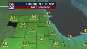 Afternoon forecast for Chicagoland on April 16th
