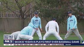 Skokie Yeshiva hosts their first-ever baseball game
