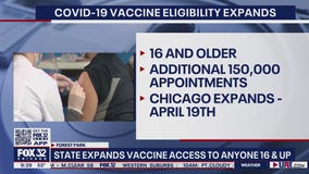 Illinois expands vaccine access to anyone 16 or older