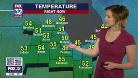 6 p.m. forecast for Chicagoland on April 15