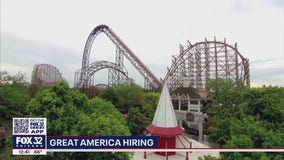 Six Flags Great America now hiring