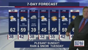 Snow and rain likely in Chicago area on Tuesday
