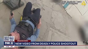 Footage released of shooting that wounded Chicago cop, killed suspect in Brighton Park