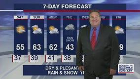 10 p.m. forecast for Chicagoland on April 16