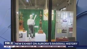 New exhibit showcases Aurora's rich baseball history