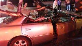 1 dead, 3 hurt in West Town crash