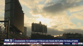 Changes abound as fans return to Wrigley Field for Opening Day