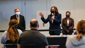 VP Harris in Chicago: Vaccinated can be 'role models' for friends, family