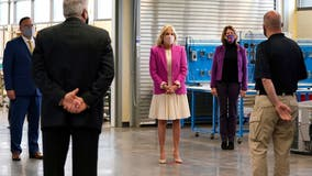 First Lady Dr. Jill Biden promotes community colleges during Illinois visit