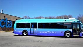 Chicago Transit Authority testing electric buses