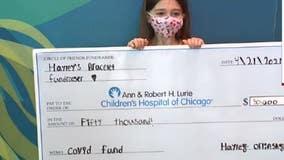 Local girl raises $50K for Lurie Children's Hospital