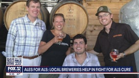 'Ales for ALS': Lombard brewery raising money to fight ALS