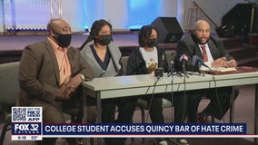 Illinois college student speaks out after alleged hate crime at Quincy bar