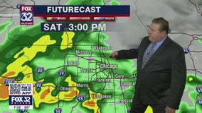 Forecast: Highs in the mid-50s as rain continues through Saturday night
