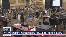 Suburban Cook County announces walk-in vaccination appointments