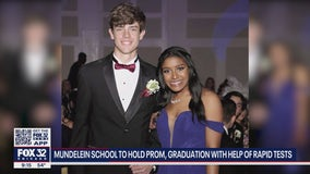 Suburban high school plans to hold in-person prom, graduation