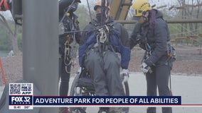Adventure park in suburban Chicago accommodates those with physical limitations, sensory issues