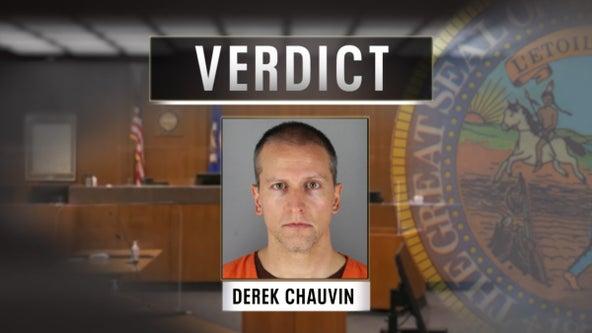 Derek Chauvin verdict: Guilty on all counts