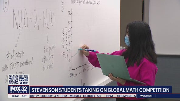 Lincolnshire high school math teams compete for international recognition